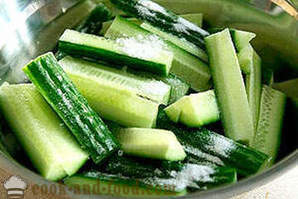 Cucumbers with meat in Korean (Chamber)