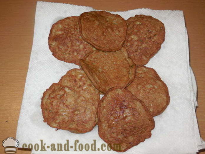 Liver chops chicken liver with rice and starch - how to cook a delicious liver patties, a step by step recipe photos