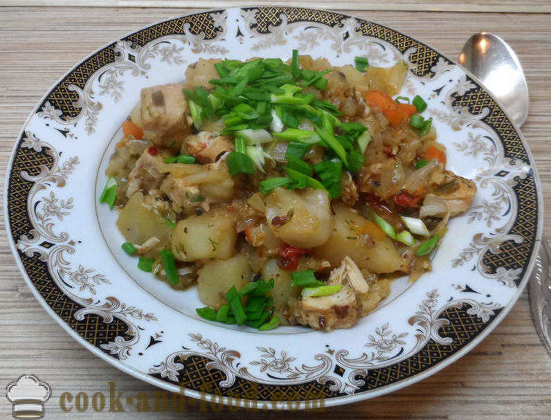 Dish dimlama - how to cook in dimlama multivarka, step by step recipe photos