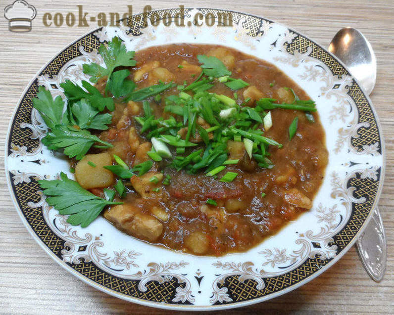 Goulash soup Hungarian - how to cook goulash soup with chipetkami, step by step recipe photos