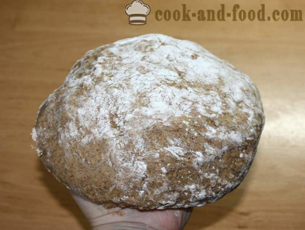 Recipe for rye bread in the oven - how to bake rye bread at home, step by step recipe photos