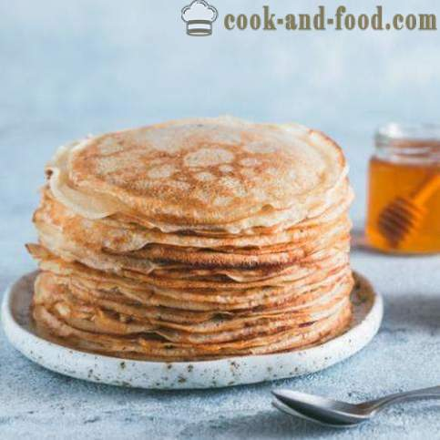 Mardi Gras: 7 pancakes recipes for each day - video recipes at home