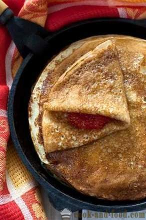 Choosing a pan for baking pancakes - video recipes at home