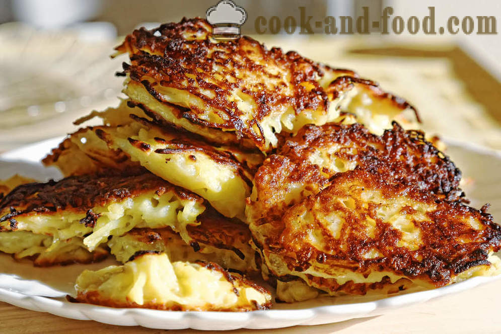 Belorussian cuisine: pancakes made from potatoes - video recipes at home