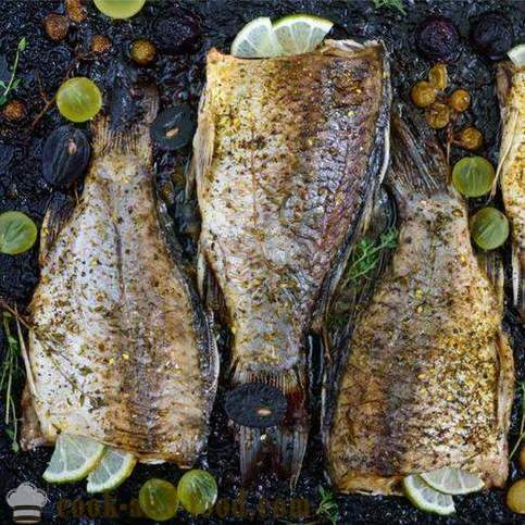 Tips on how to bake delicious carp in the oven - video recipes at home