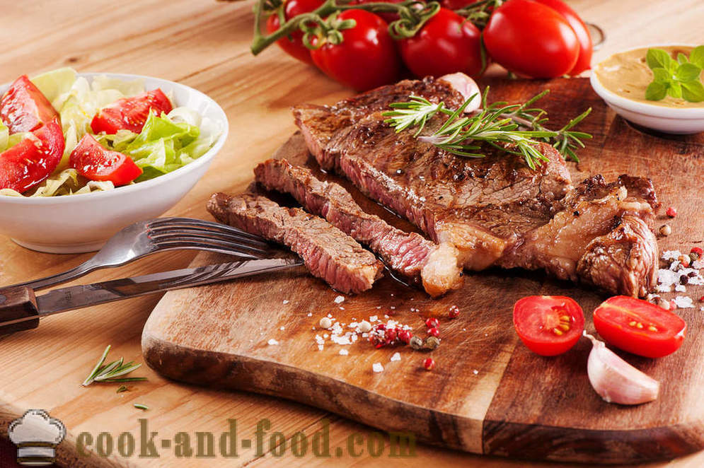 Rump steak: 3 best recipe