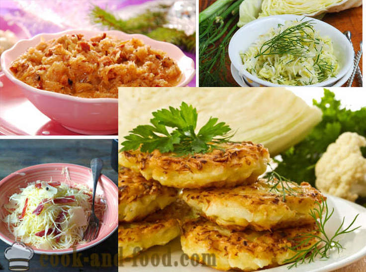 17 dishes of cabbage - video recipes at home