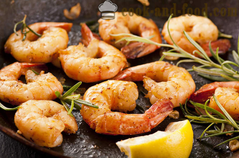 Fragrant fried shrimp