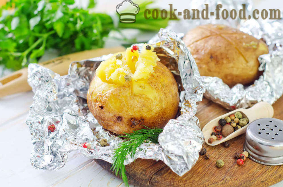 Potato recipes in the oven