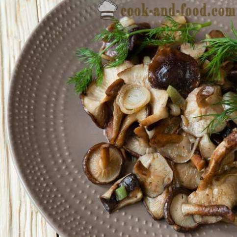 How to fry in a pan delicious mushrooms - video recipes at home