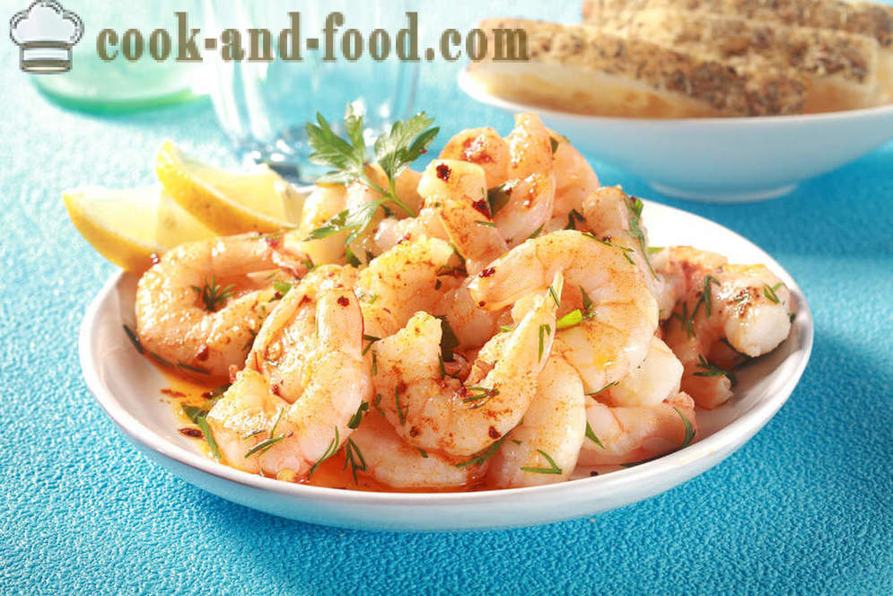 How to cook shrimp with garlic